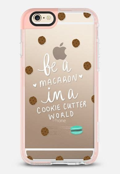 Cookie Iphone 6 Cover be a macaron in a cookie cutter world iphone 6 in pink by etsydaynalee casetify