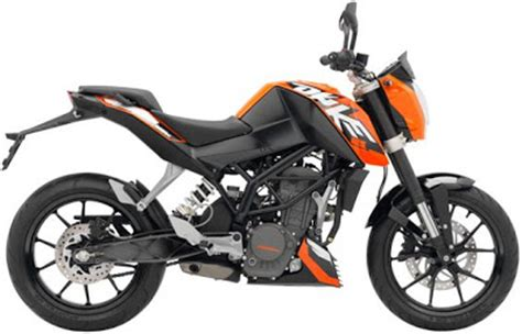Ktm Duke 125 Features Ktm Duke 125 Specifications Motorcycles And 250