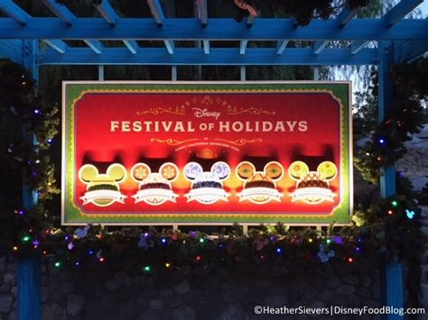 more festival of holidays food photos from disney california adventure the disney food