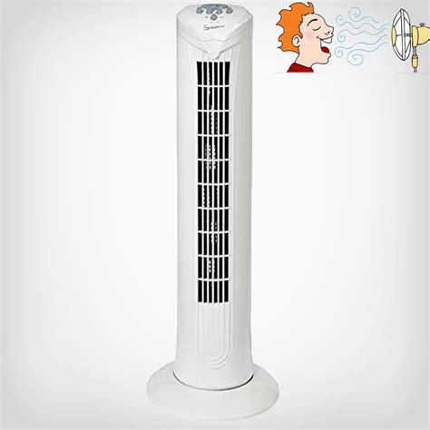 Desk Tower Fan by Electric Oscillating Fans Extandable Tower Desk Standing