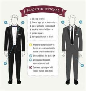 proper attire for black tie optional wedding the gentlemanual s guide to the black tie optional dress
