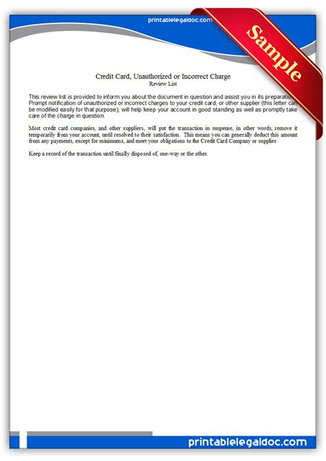 Sle Letter To Credit Card Company Can T Pay Free Printable Credit Card Form Generic