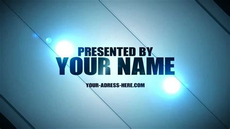 templates after effects intro free after effects intro free template no plugins needed 2