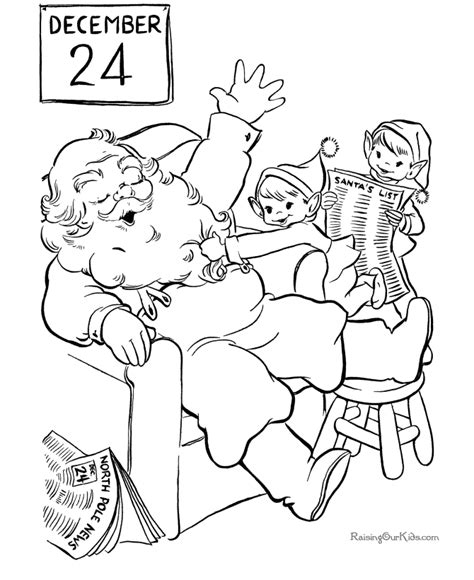 coloring pages elves santa christmas elves coloring pages coloring home
