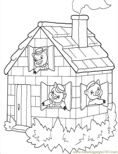printable coloring pages three little pigs three little pigs activity sheets free new calendar