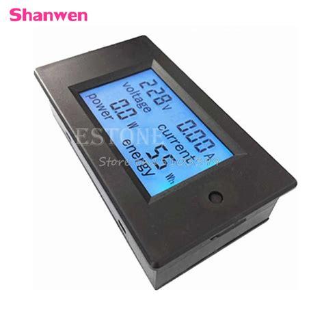 Ac Sharp 260 Watt מוצר ac 80 260v lcd digital 20a volt watt power meter