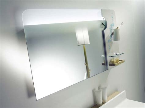 Modern Minimalist Mirror Design For Simple Small Bathroom Small Bathroom Mirror