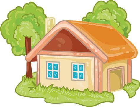 house cartoon log cabin cartoon house png