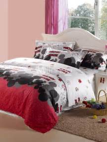 Mickey Mouse Bedroom Set Mickey Mouse Bedding Set Products I Love Pinterest