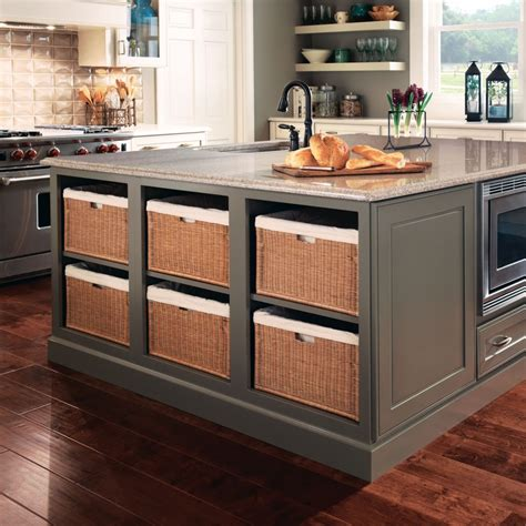 kraftmaid kitchen island 5 benefits of kitchen islands kraftmaid inside kitchen