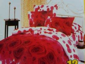 Sprei Vallery 180x200 Pink katun twill rumah sprei cantik
