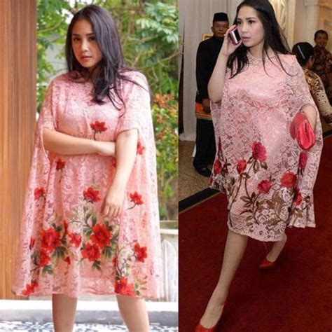 Baju Gamis Ala Nagita trend alert 2017 kaftan ala nagita slavina yang stylish muslim beautynesia