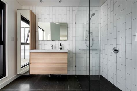 Modern Subway Tile modern subway tile bathroom