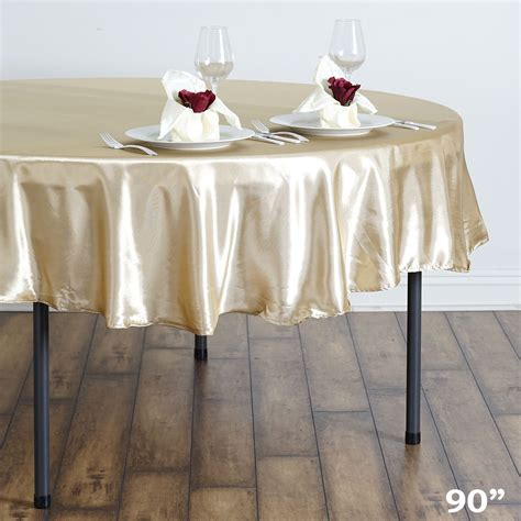 90 quot satin tablecloths wedding fundraiser table linens decorations ebay