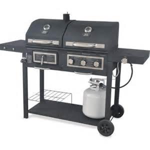 Backyard Grill By16 Backyard Grill Dual Gas Charcoal Grill Walmart