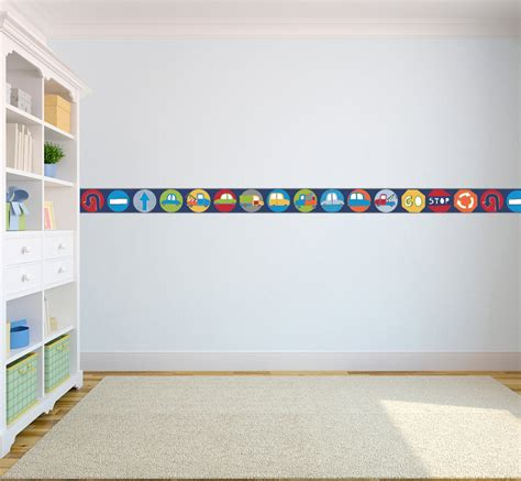 borders for rooms wallpaper borders children s nursery boys bedroom wall self adhesive ebay
