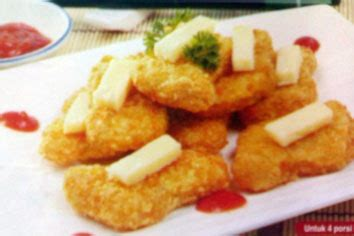 cara membuat nugget ayam udang nugget ayam keju resep masakan indonesia