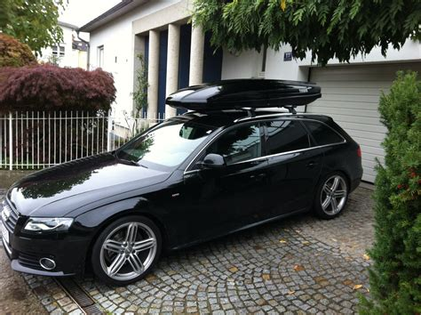 Dachbox Audi A6 Avant by Audi4ever Fahrerdatenbank
