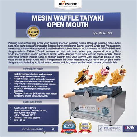 Mesin Waffle mesin waffle taiyaki open etyk3 toko mesin