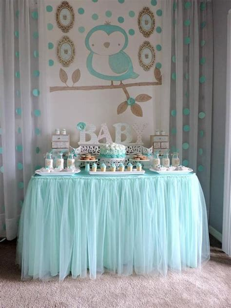 baby shower table 35 boy baby shower decorations that are worth trying