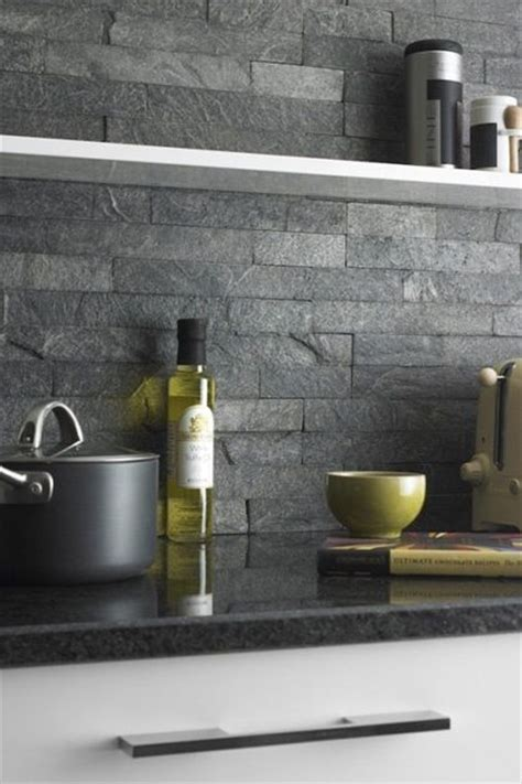 slate backsplashes for kitchens 25 best ideas about slate backsplash on tin