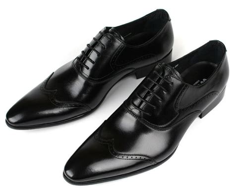 new s wedding shoes cow leather dress formal lace up black white size 5 11 8 ebay