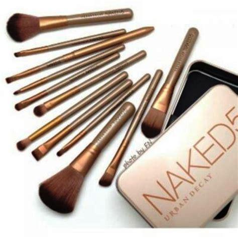 Kuas Make Up 3 Decay Kaleng 12in1 Isi 12 Pcs kuas 5 decay power brush lengkap buat make up pro gea care