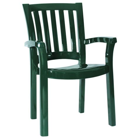 Green Plastic Patio Chairs by Green Plastic Chair Stacking Isp015