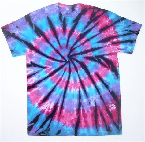 on sale small tie dye shirt pink purple blue spiral