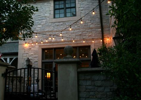 Cafe Patio Lights Outdoor Lighting Perspectives Of Kansas City