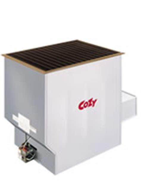 cozy vented gas floor furnace 90n75 75 000 btu hvac