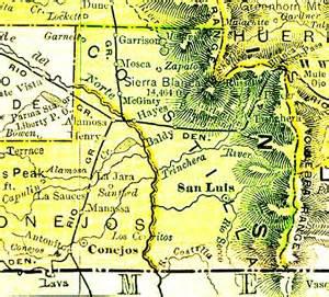 costilla county colorado map costilla county colorado maps