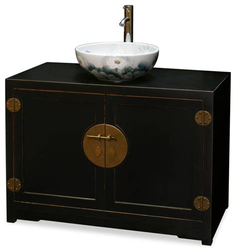 asian bathroom vanity elmwood ming style vanity cabinet asian bathroom