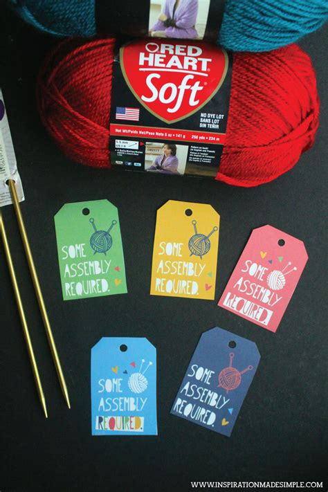 knitting accessories gifts knitting crochet gift tags inspiration made simple