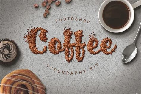 food typography tutorial photoshop 100 delicious food photoshop styles psddude