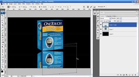 tutorial photoshop reflection effect photoshop tutorial episode 15 advanced mirror