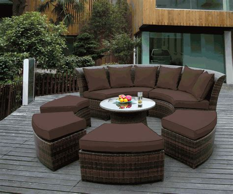 Beautiful Outdoor Patio Wicker Furniture Deep Seating 7pc Ohana Patio Furniture