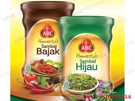 Tempat Sambal Saos Style dua varian baru sambal abc homestyle sambal bajak dan
