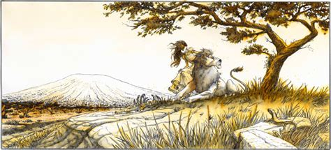 film le lion de kessel martin trystram illustrations