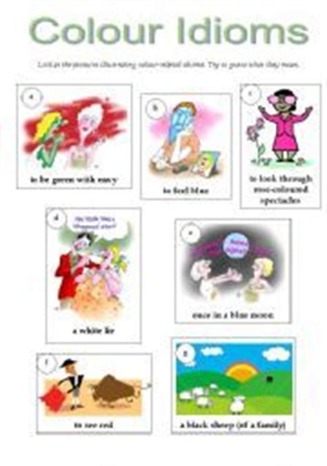 color idioms 1000 images about color idiom on pinterest language