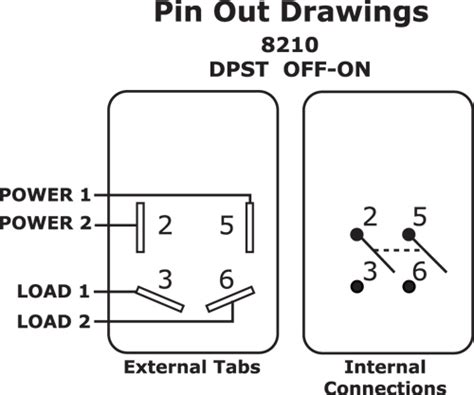 throw toggle switch wiring diagram get free image