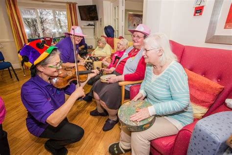 new year activities for nursing homes social care firm pendine park named business of the year