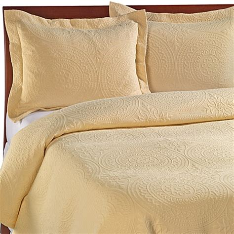 cotton matelasse coverlet vue royal medallion matelasse coverlet 100 cotton