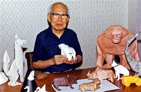 Who Made Origami - origami maniacs the greatest origami artist yoshizawa