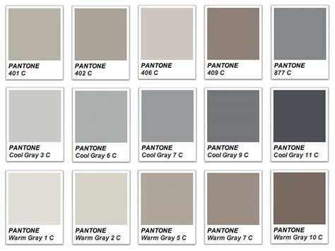 shades of grey color names shades of grey pantone colori pinterest stays