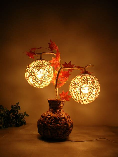 home decoration lights table decoration with venetian glasses photograph