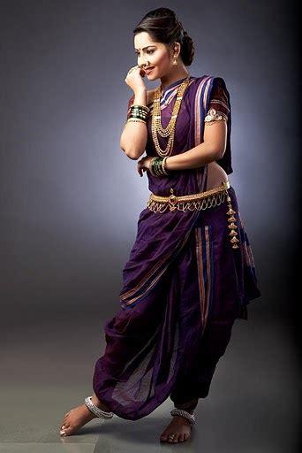 traditional saree draping styles nauvari 9 yard saree utsavpedia