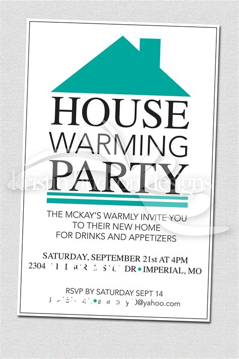 housewarming template invitation house warming invite designs by kristin hudson