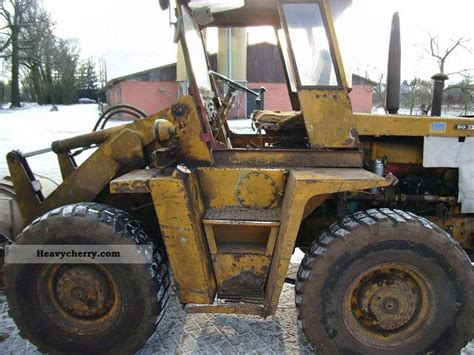 zettelmeyer europ l800 1971 wheeled loader construction