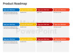Product Roadmap Template Powerpoint by Doc 800600 Product Roadmap Powerpoint Template Editable